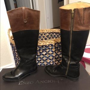 Enzo Angiolini riding boots